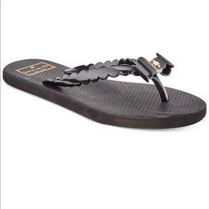 Kate Spade Denise Scalloped Bow Sandal